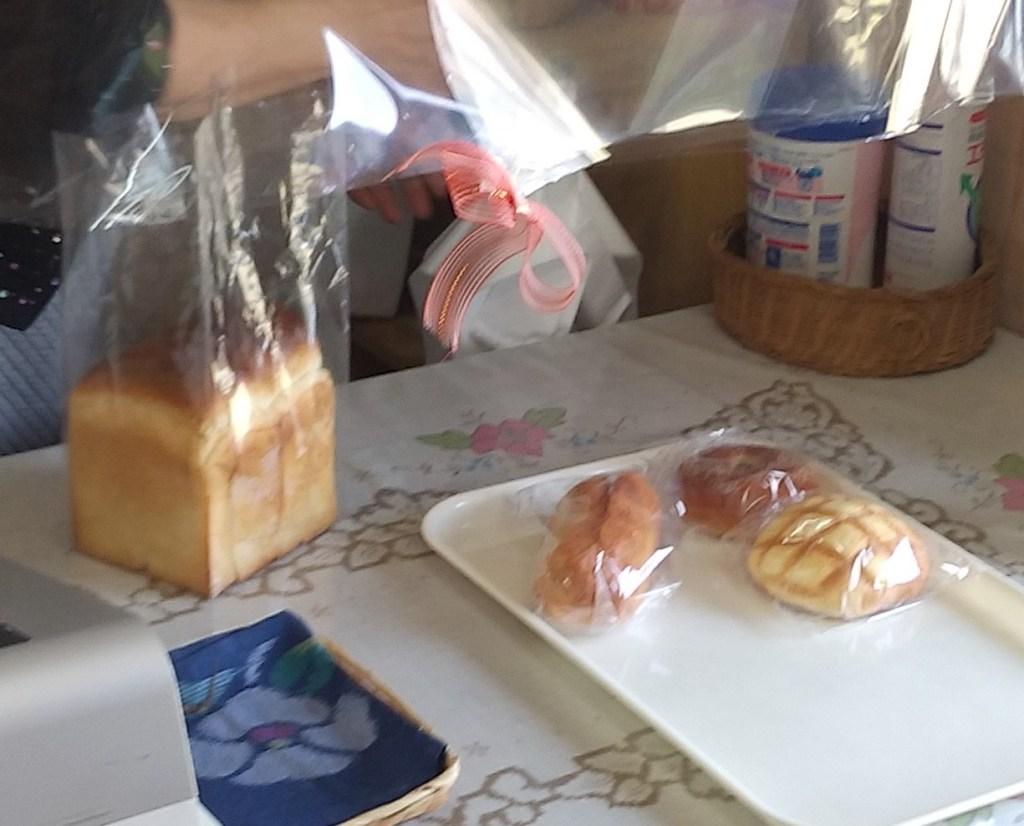 『パン工房 ハヌル』レジ