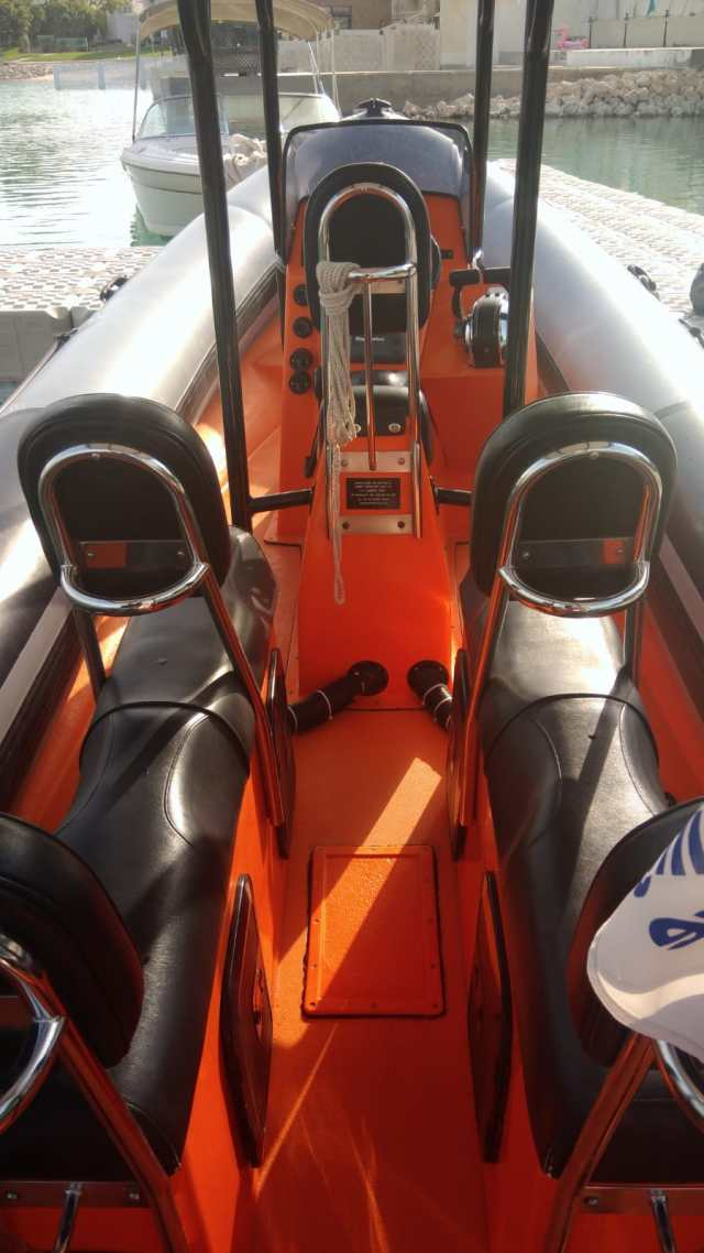 Humber Rib seating