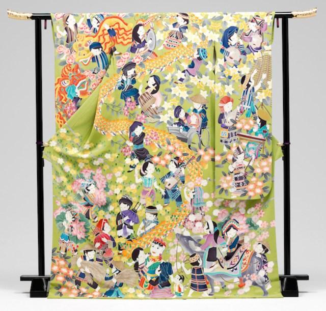Уникальное кимоно 63