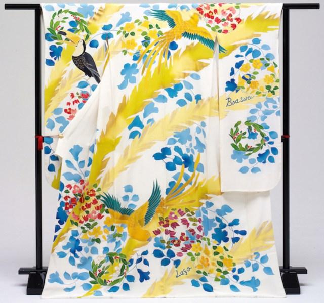 Уникальное кимоно 15