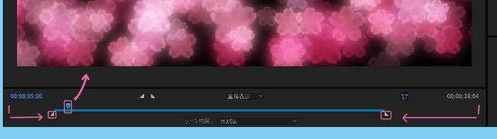 Adobe Media Encoder時間