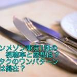 グランメゾン東京1話の視聴率と感想は?キムタクのワンパターン演技は健在?