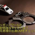 ニッポンノワールの高砂明海役キャストは?立花恵理の出演CMをチェック!