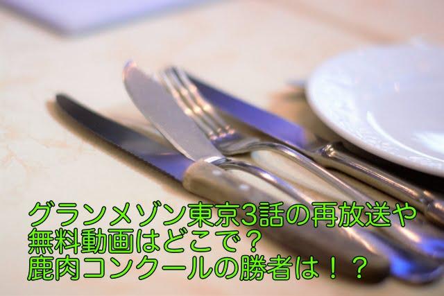 グランメゾン東京 3話 再放送