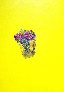 'Yellow' oil on canvas, 16 by 20 inches, 2014 (available)
