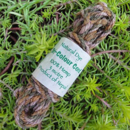 Hemp Tri-Colour Cordage (Field Green)