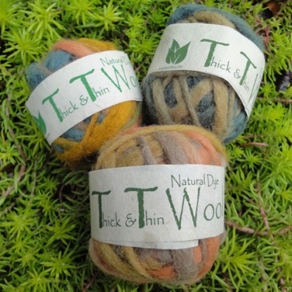 Thick & Thin Wool (Step Dyed)