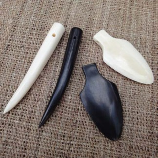 Tooth & Arrowhead Pendants