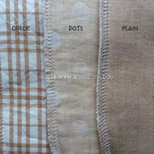 Organic cotton sanitary napkin