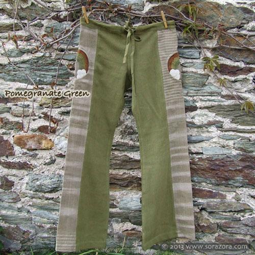 Rainbow Hike Bell Bottom Pants