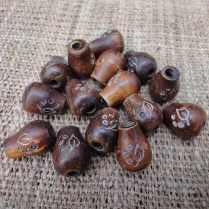 Water Drop Horn Beads