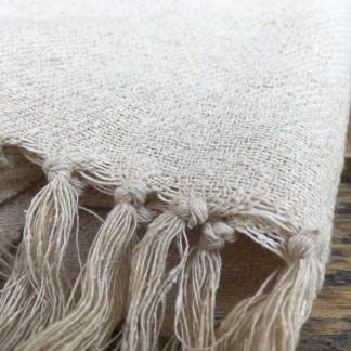 Raw Silk Shawl