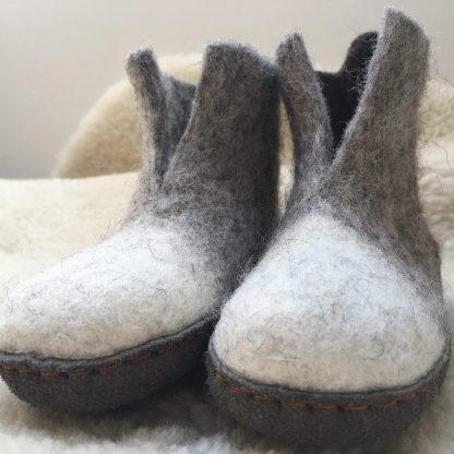Kids' Felt Slippers