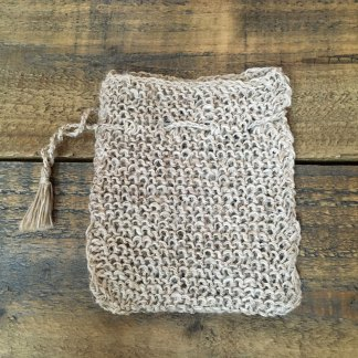 Nettle Square Soap Pouch