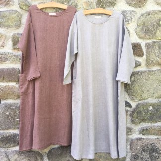 Long Sleeve Baggy Dress