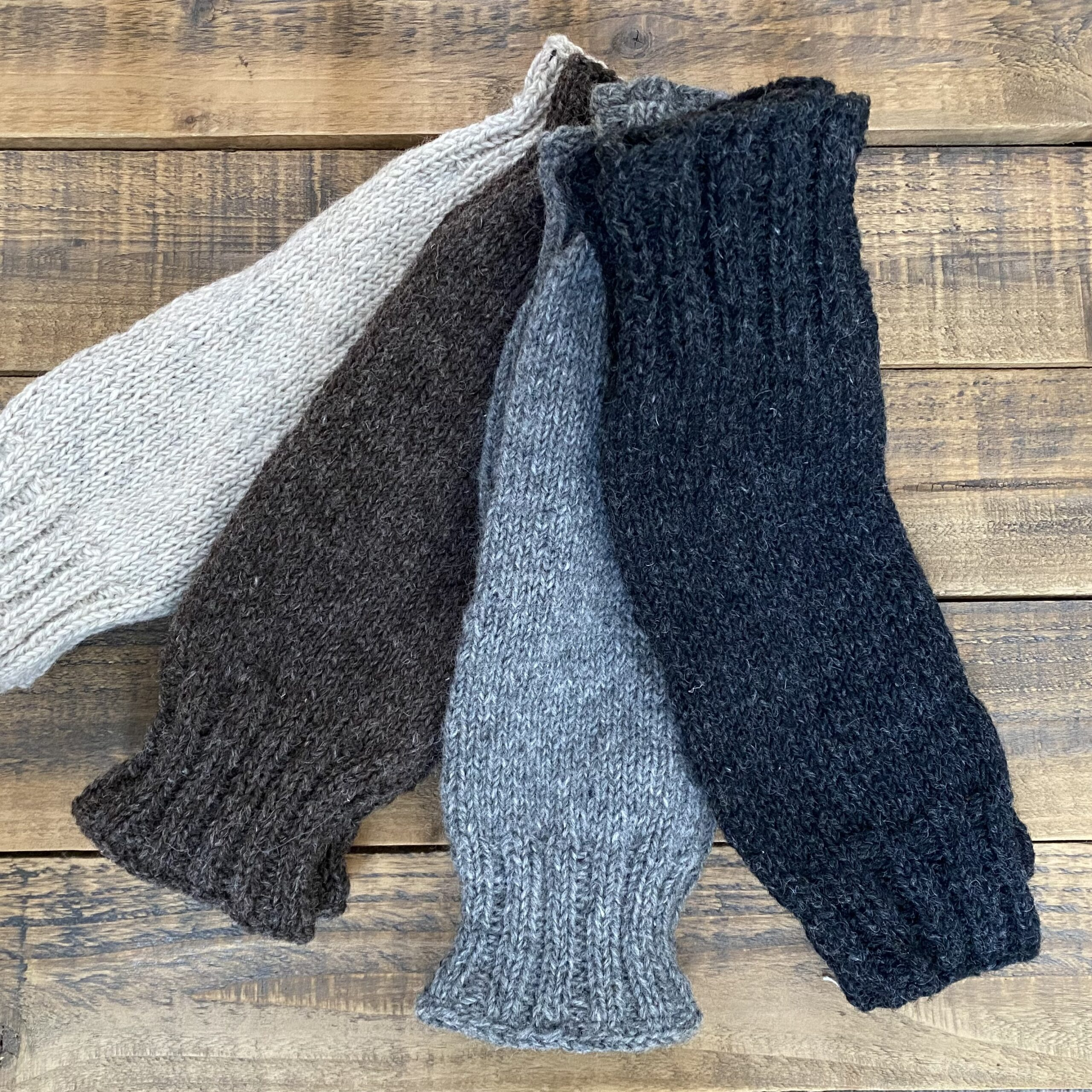 Wool Leg warmers with Lining