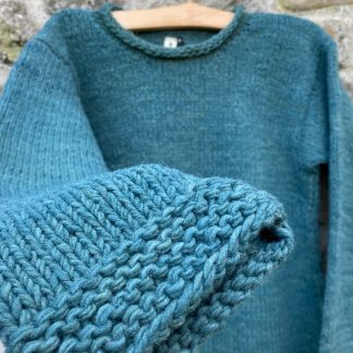 Natural Dyed Wool Jumper