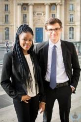 Trésorière & trésorier - Diane Kotedje & Thiago Silveira Gasser