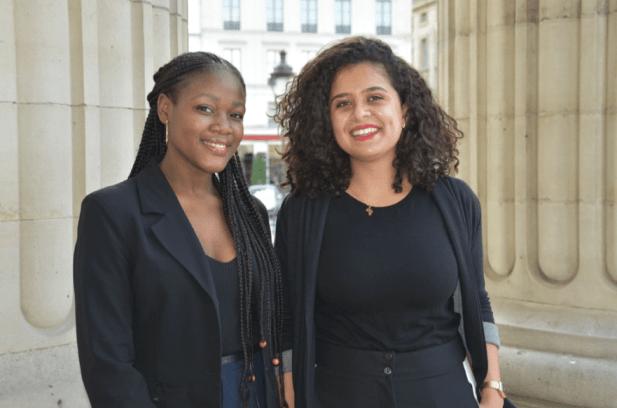 Vice-présidentes - Diane KOTEDJE & Nada NABIH