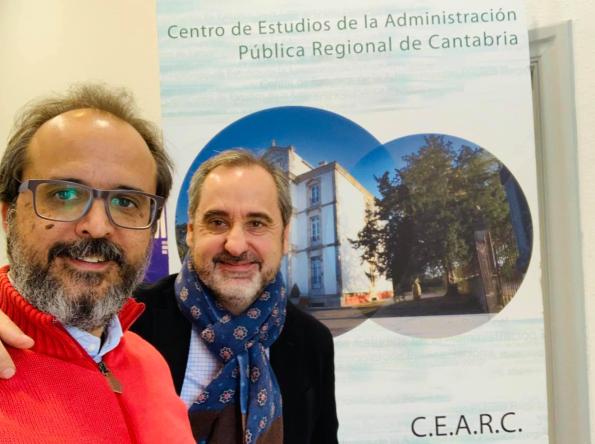 Jesús de la Corte y Fernando Lallana: apostando por el emprendimiento rural.