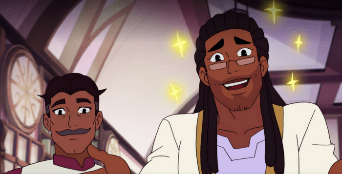 She-Ra and the Princess of Power features a new gay couple!