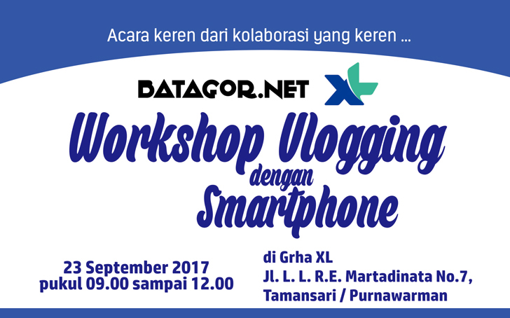 Workshop Vlogging dengan Smartphone