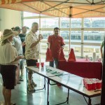 Beer pong table at the Guild Festival