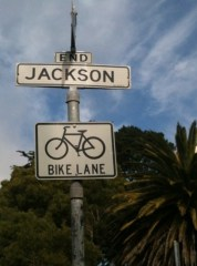 The other end of Jackson.