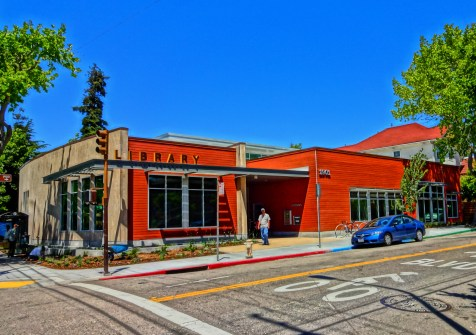 The new South Branch library open for business.