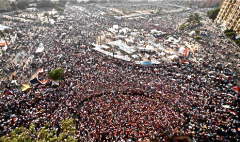July protests in Tahrir Square, Cairo.