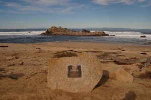 John Denver Memorial, Pacific Grove, CA. At the site of the plane crash.