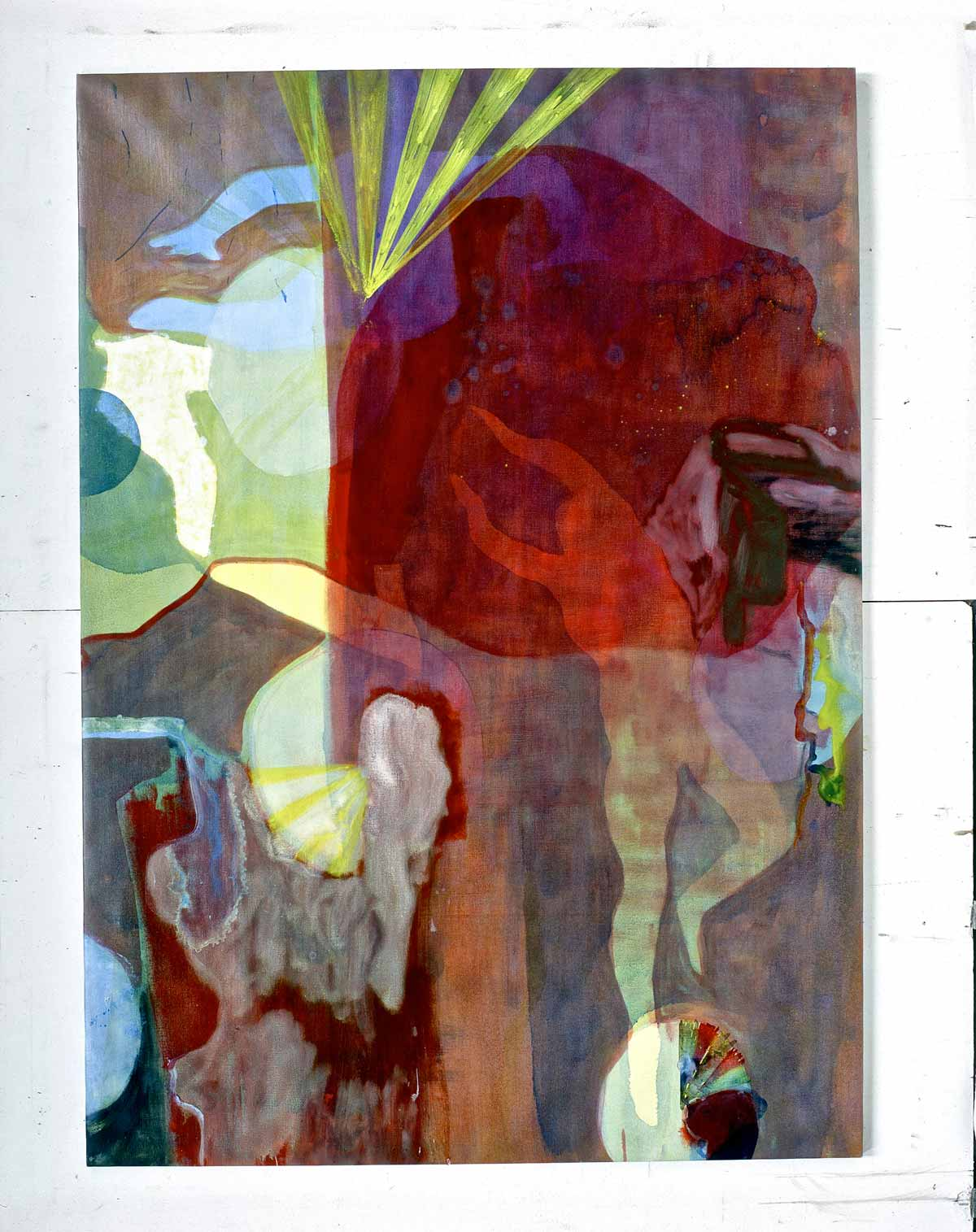 Hamlet, olie på lærred, 204x147 cm, Foreningen af Yngre Læger