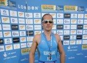 ITU Triathlon World Championship London - winner sorin boriceanu