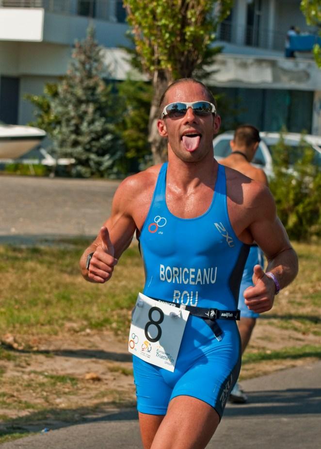 sorin boriceanu - run course - triathlon national championship