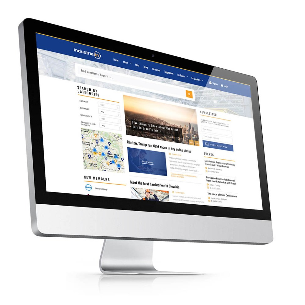 Web design portal