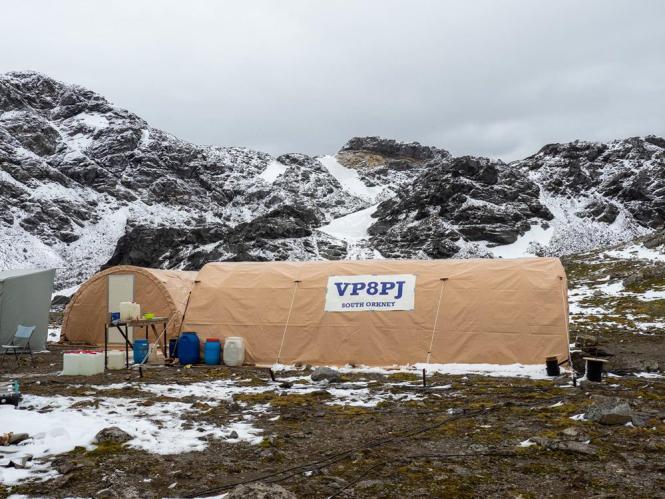 VP8PJ campsite