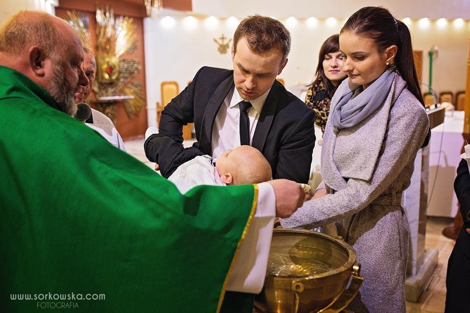 Chrzest św. Dominika w Lublinie