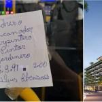 Após bilhete em ônibus de Sorocaba, profissional consegue entrevista em construtora