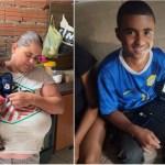 Menino que ajuda mãe deficiente visual em Sorocaba ganha computador para estudar