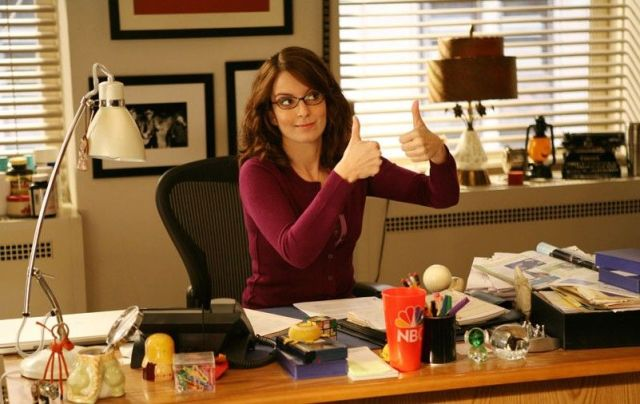 Tina Fey, a 30 Rock - A stúdió sorozatban