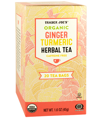 Organic Ginger and Turmeric Tea from Trader Joe's