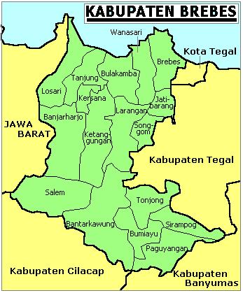 Sejarah dan Karakteristik Kabupaten Brebes
