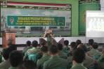 Anggota Kodim 0824 Jember Terima Sosialisasi Transmigrasi Bagi Anggota TNI