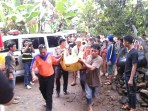 Kakak beradik hanyut terseret arus sungai Cimandiri Sukabumi