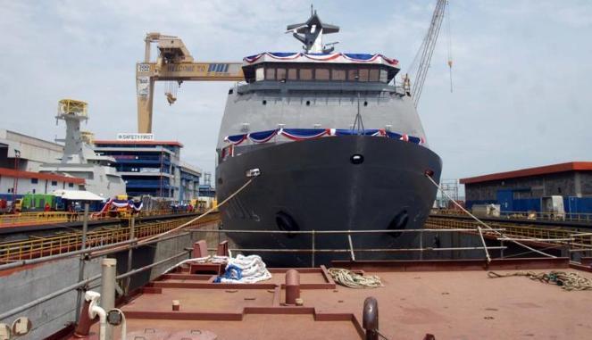 Kapal Perang Perusak Rudal Buatan RI Diekspor ke Filipina