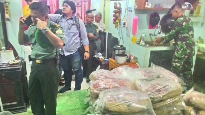Timbun Daging Ilegal Asal India, Rumah Oknum Anggota TNI Digerebek Komandan