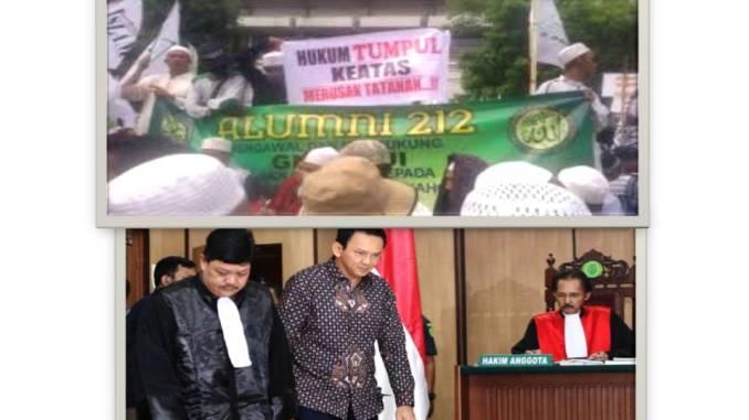 Meski Putusan Sela Sidang Kasus Penistaan Agama Hakim Batalkan Nota Keberatan Kuasa Hukum, GNPF MUI Tetap Mengawal Sidang Kasus Ahok