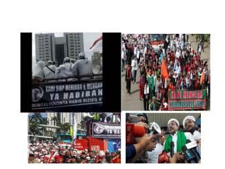 Di Atas Mobil Komando Dan Di Depan Massa, Rizieq Bicara Terkait Pemeriksaannya Di Polda Metro Jaya