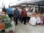 Pedagang Pasar Sayur Magetan Gelar Do'a Bersama