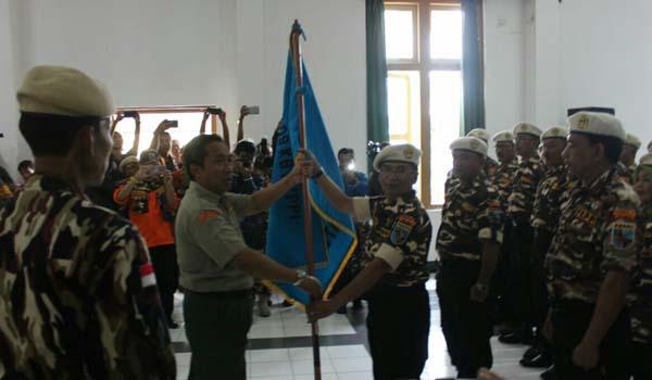 Yana Mulyana Soepardjo Lantik Pengurus Keluarga Besar FKPPI kota Bandung